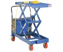 BATTERY OPERATED DOUBLE SCISSOR CART